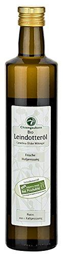 Chiemgaukorn Bio Leindotteröl, nativ 500 ml