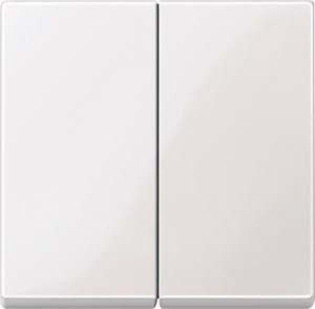 Merten Serienwippe 432519 Wippe für Serienschalter, polarweiß glänzend, System M
