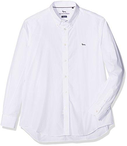 Harmont & blaine monotessuto/resca, camicia uomo, bianco, taglia produttore:3xl