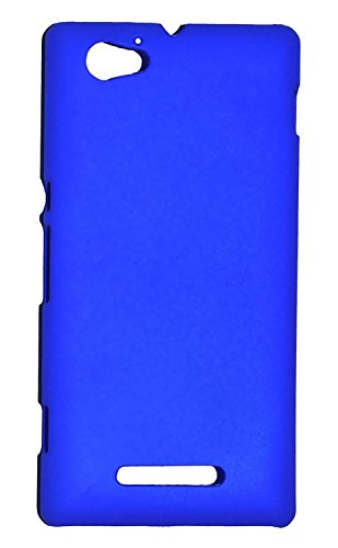 Individual Point Hard Back Cover Case For Sony Xperia M (Blue, IP477)  available at amazon for Rs.199