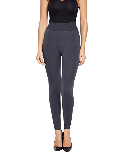 GOLDEN GIRL Women's Woollen Leggings (Grey_Free Size)