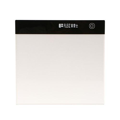 Sharplace 1x A5 Große Zeichenbrett Leuchtkasten, Kopie- und Zeichen Tisch mit USB Kabel - Weiß