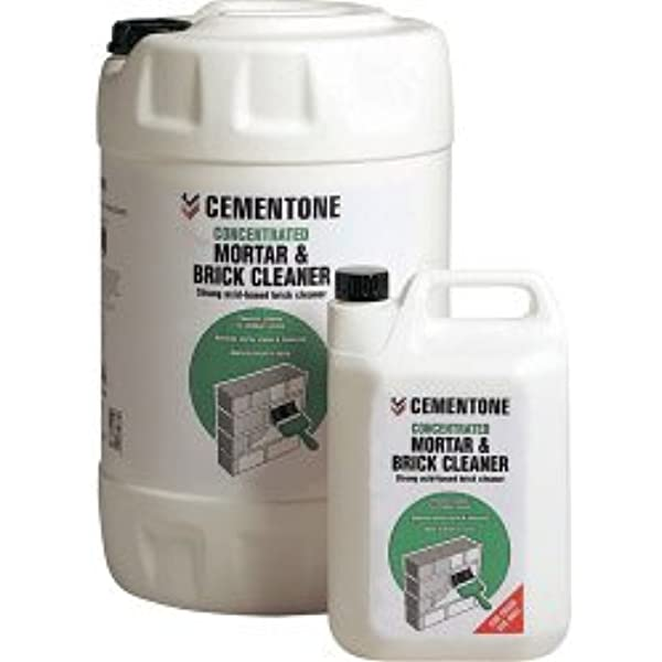 Cementone Mortar Brick Cleaner Concentrated 5l Amazon Co Uk