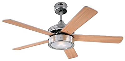 Westinghouse Hercules Ceiling Fan - Brushed Nickel