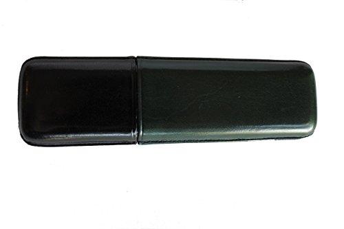 Purera de Piel Bicolor / 100% Piel/Verde y Negro Ref.59