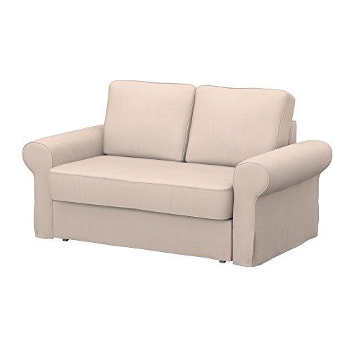 Soferia - IKEA BACKABRO Funda para sofá Cama de 2 plazas, Eco...