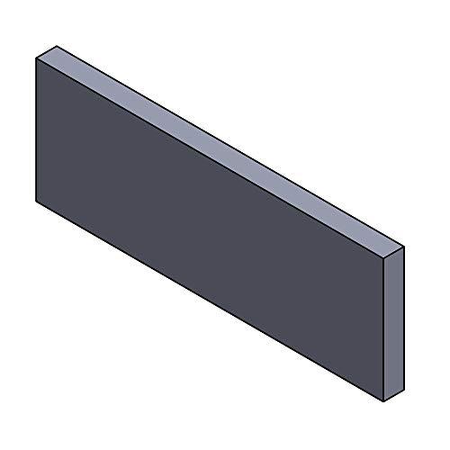 Flamado Heizgasumlenkplatte Oben 420x150x25mm (Vermiculite)
