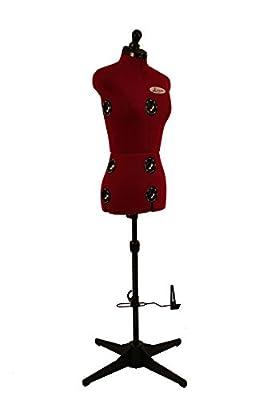 Clarie Diana - Maniquí de costura con 8 elementos ajustables, talla A de Clarie