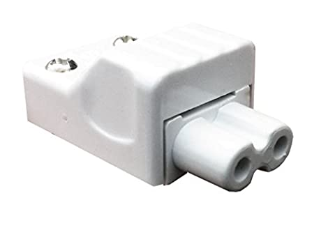 Leyton Lighting T5 re-wireable female plug (rewiareable connector link leads)