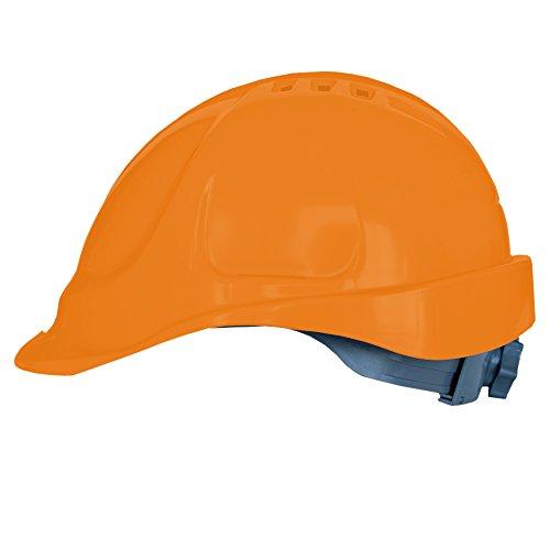 ißband, Kopfgrößenverstellung, EN397, Оrange (Erwachsene Bauarbeiter Kostüme)