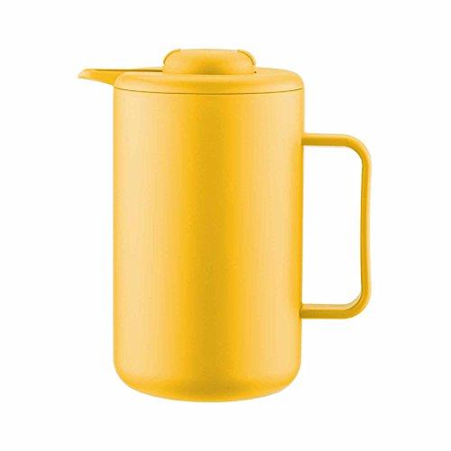 Bodum Bistro Thermo Kanne, 1 l, Gelb - Bodum Thermo
