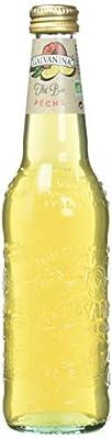 Galvanina Thé à la Pêche Bio 355 ml - Lot de 6