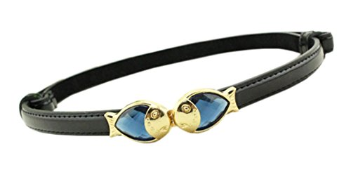 davidlove-women-belt-leather-adjustable-pair-fish-press-buckle-skinny-waist-belts-black