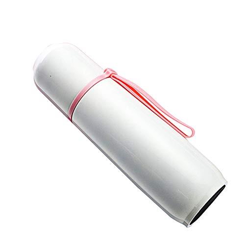 Thermosflasche Aus Edelstahl Für Heiß Und Kaltgetränke, Auslaufsicher, Doppelwandig,500ml(Pink) - Mug Travel Vakuum-versiegelt