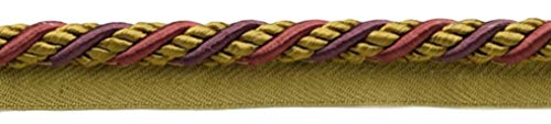 Large 10mm Black Cherry Red, Camel Beige, Purple Basic Trim Cord With Sewing Lip|Style# 0038AXL|Color: Cerise - LX09|Sold by the Yard (91cm / 3 Ft / 36"|500|113|?|121bac40b36c5031f5437b2fd7a957f6|False|UNLIKELY|0.3480704128742218