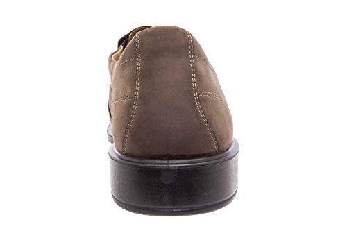 206206 - Jomos - Slipper aus Leder in zwei Farben verfügbar Leder Schoko