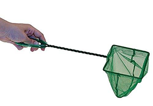 Milopon Fish Net Fisch Kescher hochwertiges Fangnetz aus reißfestem Nylon für Aquarien Netz Garnelen Garnelenkescher Size 23 * 8 * 10CM