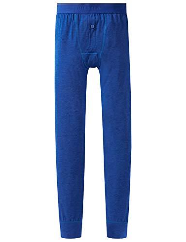 Schiesser Jungen Personal Fit Hose lang Slip, Blau (Royal 819), (Herstellergröße: 176)