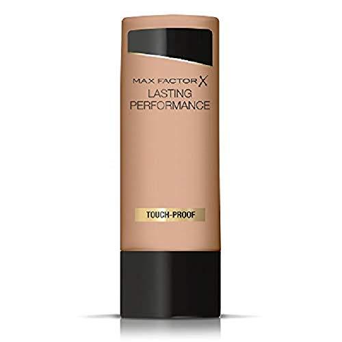 Max factor lasting performance fondotinta liquido, alta coprenza, finish matte e lunga durata, 108 honey beige, 35 ml