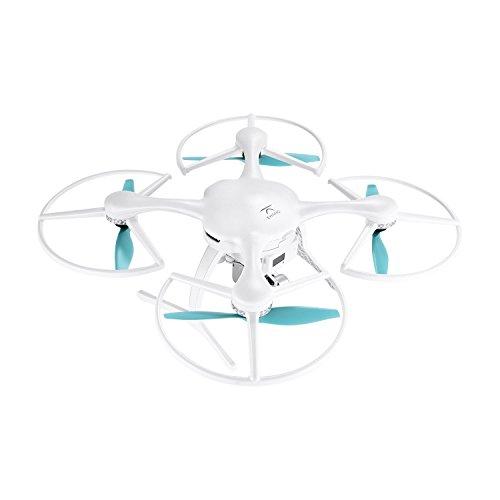 Ehang GHOSTDRONE 2.0 Aerial RC + Quadrocopter mit 3-Achsen Hochpräzisionsgimbal &4K HD Sports Actionkamera, iOS/Android APP Bedienung, 25 Min Flugdauer, Bis zu 1000m Sendebereich,Weiß - 5