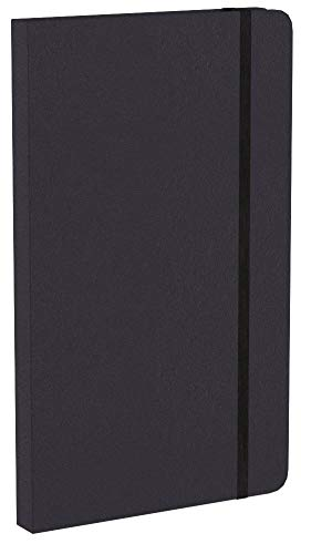 AmazonBasics Classic Pocket book, Plain - (130mm x 210mm) - 240 pages (Black) Image 10