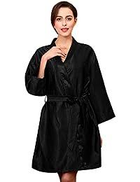1358ede52 ZYUEER Moda para Mujer Robe Babydoll CinturóN CamisóN Ropa ...