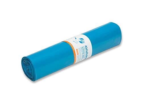 Müllsäcke DEISS PREMIUM PLUS blau 120 Liter, 700 x 1100 mm (Große Säcke)
