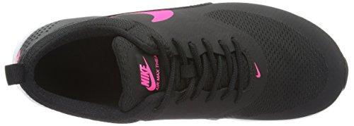 Nike Air Max Thea (Gs), Scarpe da Corsa Bambina Nero (Black / Hyper Pink-White)