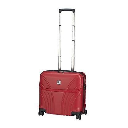 31GRBfMafgL. SS416  - Hedgren HFO06W / 779-01 Fórmula Uno maleta, 42 cm, 38 litros, Negro / combo Red