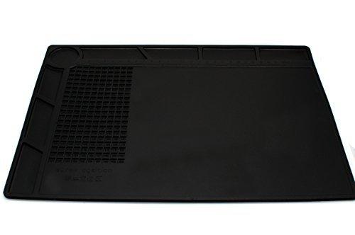 Desktop Resist Löten Multi Hitze Verwenden Hitze Arbeiten Matte für elektronische Wartung (schwarz)