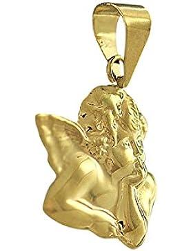 Hobra-Gold KLEINER SCHUTZENGEL GOLD 585 GOLDANHÄNGER ENGEL RAFFAEL ANHÄNGER - GOLDANHÄNGER