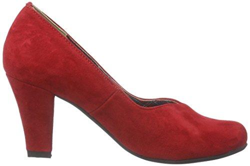 Andrea Conti 1000522, Damen Pumps Rot (021)
