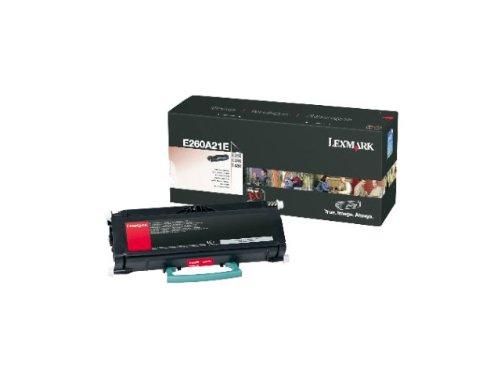 Lexmark E260A21E E260, E360, E460 Tonerkartusche 3.5K, schwarz
