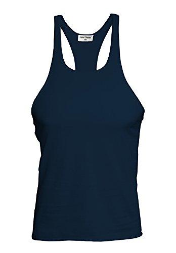 Raftaar® Stringer, Muskelshirt, Tank-Top, Sport- und Bodybuilding-Top mit Racerback Gr. X-Large, navy -