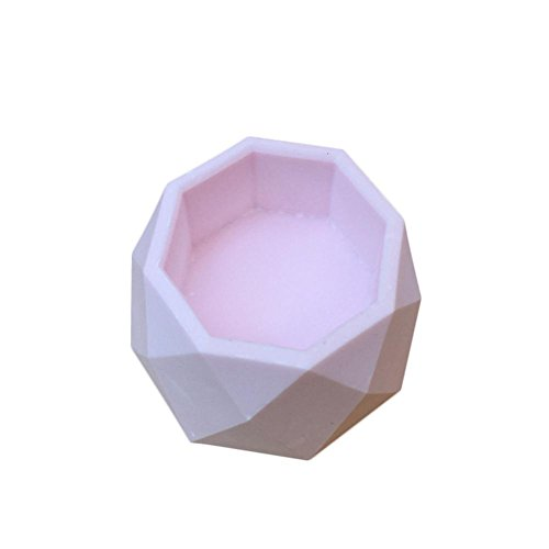 Envisioni Blumentopf Form, Silikon Wiederverwendbare Fleisch Schüssel, geeignet für Aromatherapie Gips Candlestick Handwerk