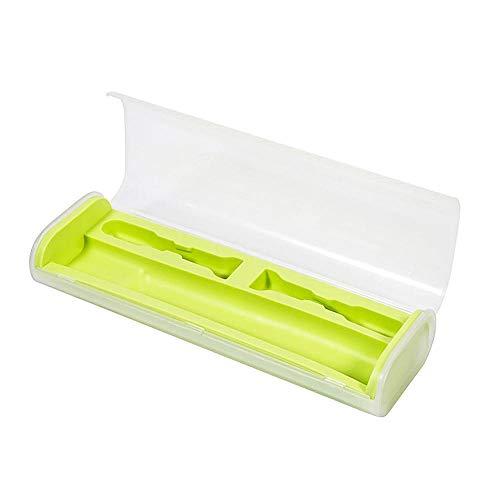 YSJ Zahnbürstenhalter Halter Food Grade Pp + Zahnbürstenhalter Aus Gummi Travel Portable Toothbrush Storage Box CoverGreen Food Storage Box Cover