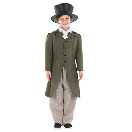 Twist Für Jungen Oliver Kostüm - Fun Shack FNK3464XL Kostüm, Boys, Victorian Gent, xl