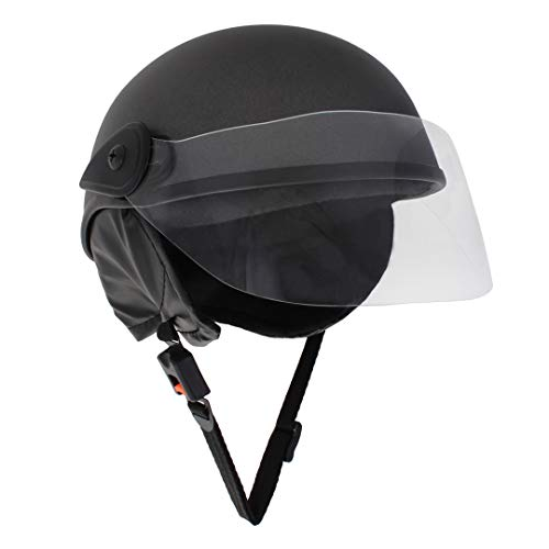 Sage Square Scooty Half Helmet for Men, Women (Grey Matte, Medium)
