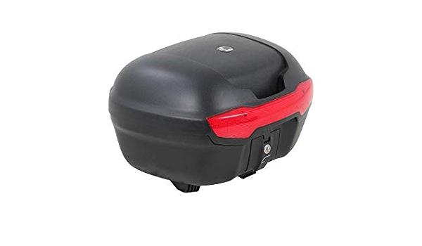 H B Motorradtopcase Topcase Journey 40 Schwarz 38 Liter Unisex Sommer Auto