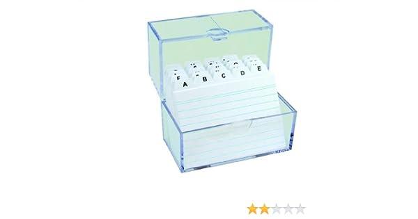 DIN A7 Lernbox Farbe hellgrün Herlitz Karteikasten