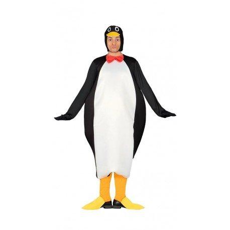 Pinguin Kostüm für Erwachsene, Größe:L (36 Herren-pinguin)