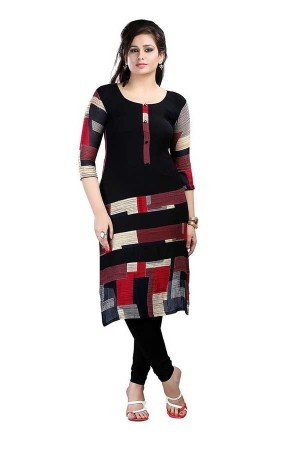 Kurti(Roop Craft Women\'s Designer Casual Cotton Kurti- full size_1-Neerza_Blue)
