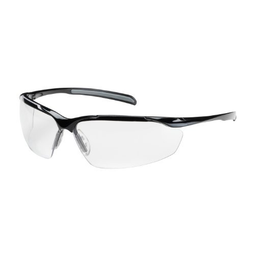commander-250-33-0020-semi-rimless-safety-glasses-with-gloss-black-frame-clear-lens-and-anti-scratch