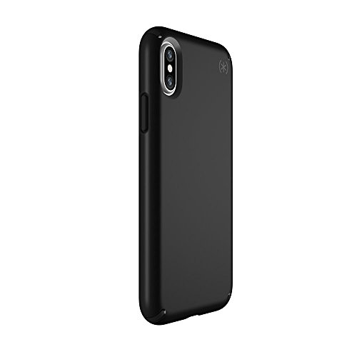 Speck Presidio - Funda para iPhone X Negro