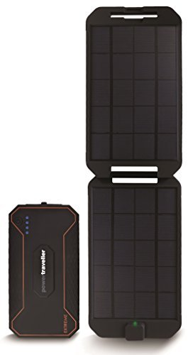 Powertraveller Extreme PTL-EXT001 Solar Powerbank 12.000mAh wasserdicht USB 5V 2A 12V DC Out USB-C in-/Output 3 Colour LED Indicator