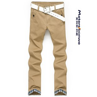 2013-new-spring-metersbonwe-genuine-straight-slacks-smith-barney-mens-trousers-casual-pants