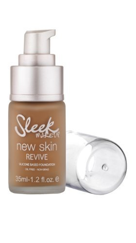 Sleek Make Up New Skin Revive Foundation Mocha 35ml by Sleek MakeUP (English Manual)