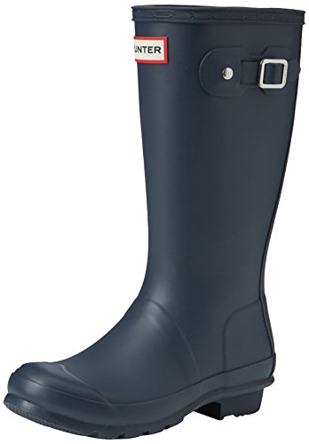 Hunter Original Wellies, Unisex Kinder Stiefel, Blau - Blau (Marineblau) - Größe: 33 EU (Kinder Original Hunter Stiefel)