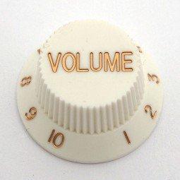 Göldo KBSVW Volume-Knopf für Strat / weiß