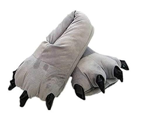 ShiyiUP Süße Hausschuhe für Damen und Herren Erwaschene Tier Pantoffel Winter Plüsch Kostüm ()